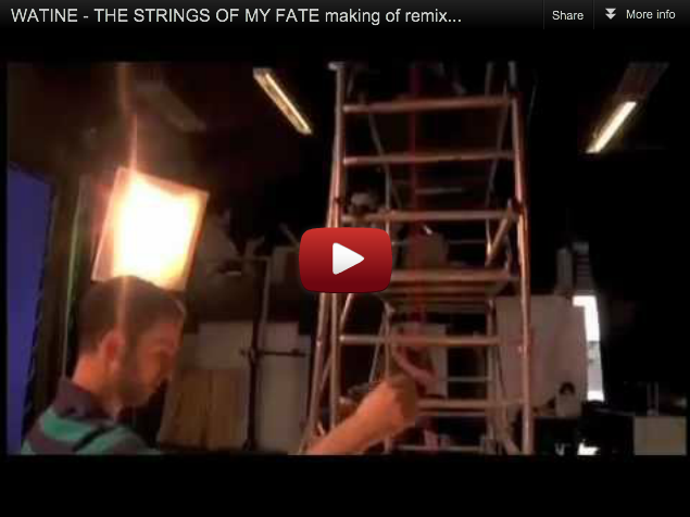 Le Making of du clip The Strings Of My Fate