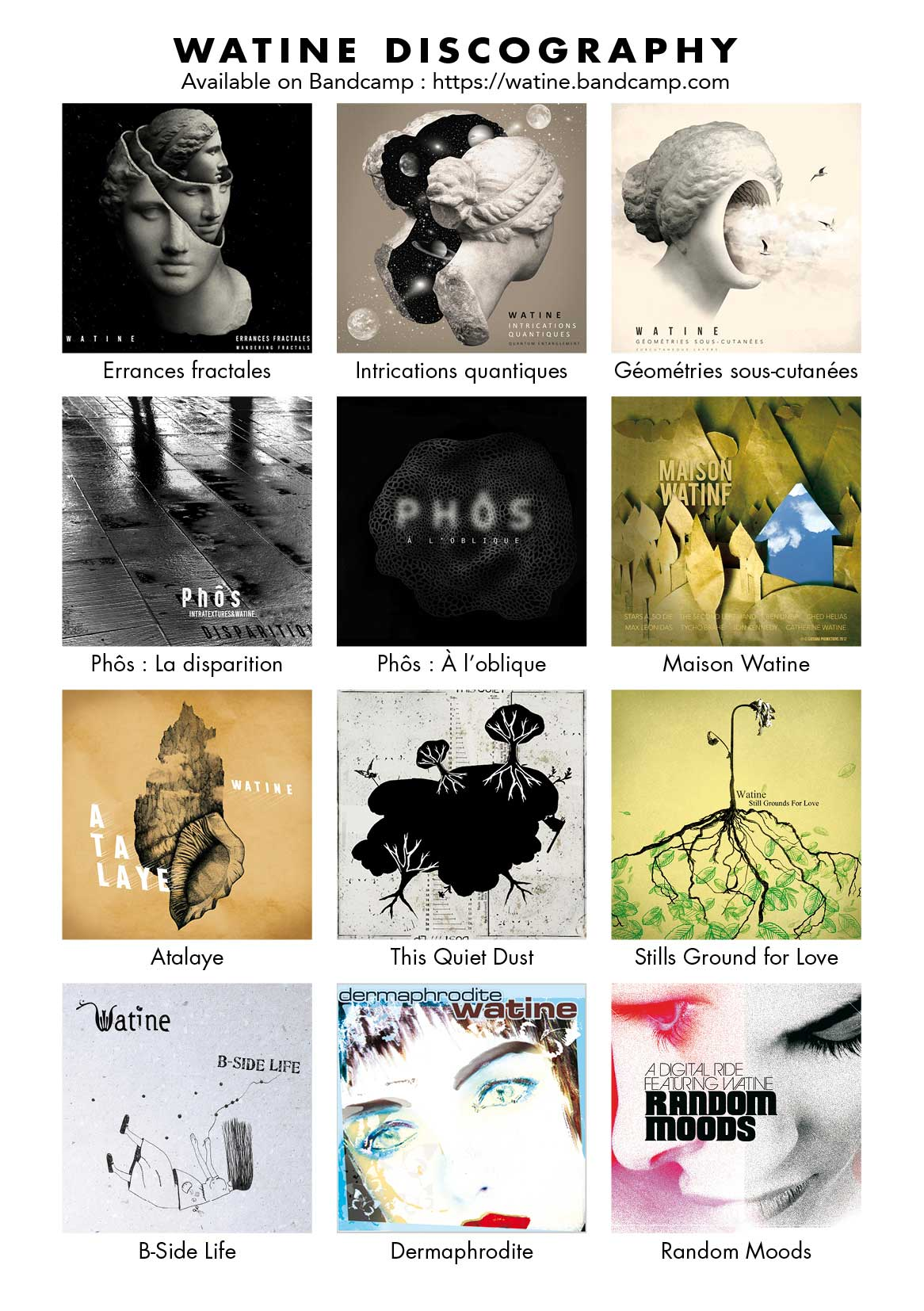 Watine discography