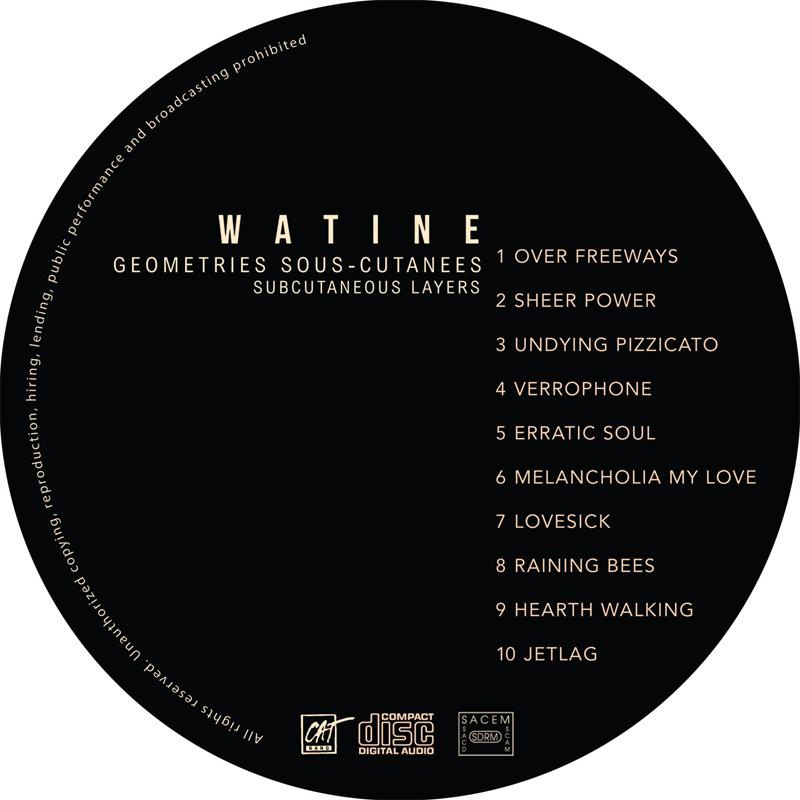 Watine - Géometries sous-cutanées